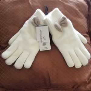 NWT- Chenille Lined Gloves